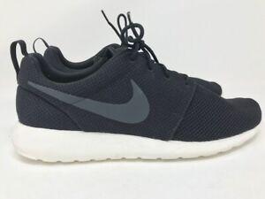 UOMO-Nike-Roshe-One-Black-Anthracite-Sail-Discounted-Us-Misura-12