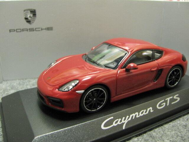 1 43 Minichamps Porsche Cayman GTS dealer version diecast