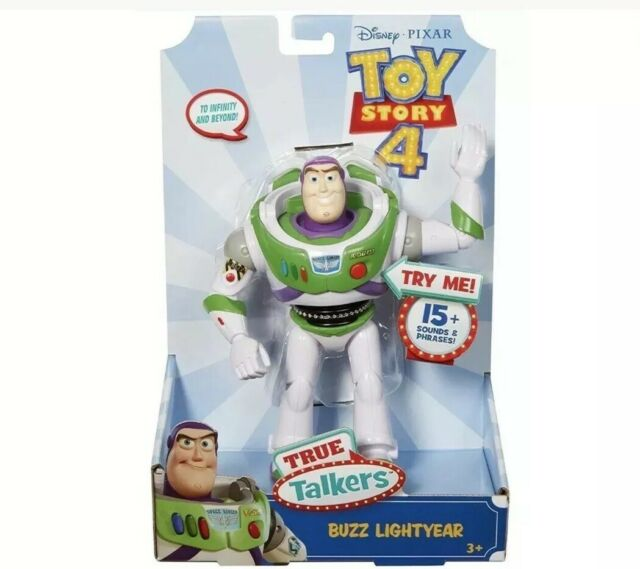 Brand New Disney Pixar Toy Story True Talkers Buzz