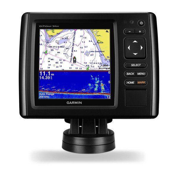 Garmin Echomap Chirp Capteur 54cv Marine GPS avec Capteur Chirp et Bluechart g2 Cartographie 2cfa4c