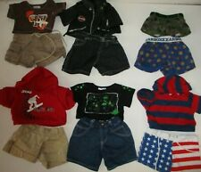 Build A Bear Clothes Boys Mix & Match Outfits Lot
