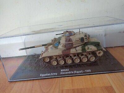 - 1999 Scale 1:72 Box 115 Egypt Tank m60a3 Egyptian Army Alexandria