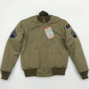 BOB-DONG-Fury-Tanker-Patch-Jacket-Mens-Vintage-US-Army-Military-Winter-Wool-Coat