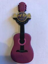 Hard Rock Cafe Macau Hotel Soft Guitar Magnet RARE
