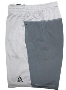 NWT-Reebok-Men-039-s-Speedwick-Sport-Workout-Run-Athletic-Shorts-Grey-Pick-Size