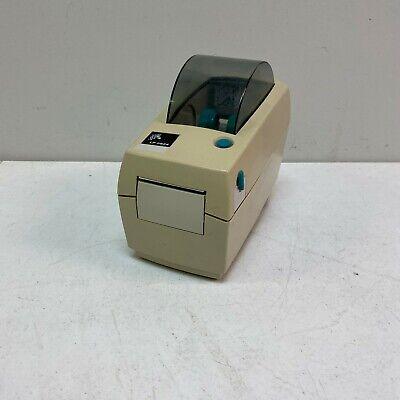 Zebra LP2824 Barcode Thermal Label Printer POS LP 2824 W// Power Supply Tested!