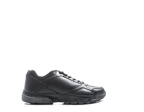 Uomo Scarpe Lotto tessuto Pu Sneakers Nero T6113 AxFPxqv