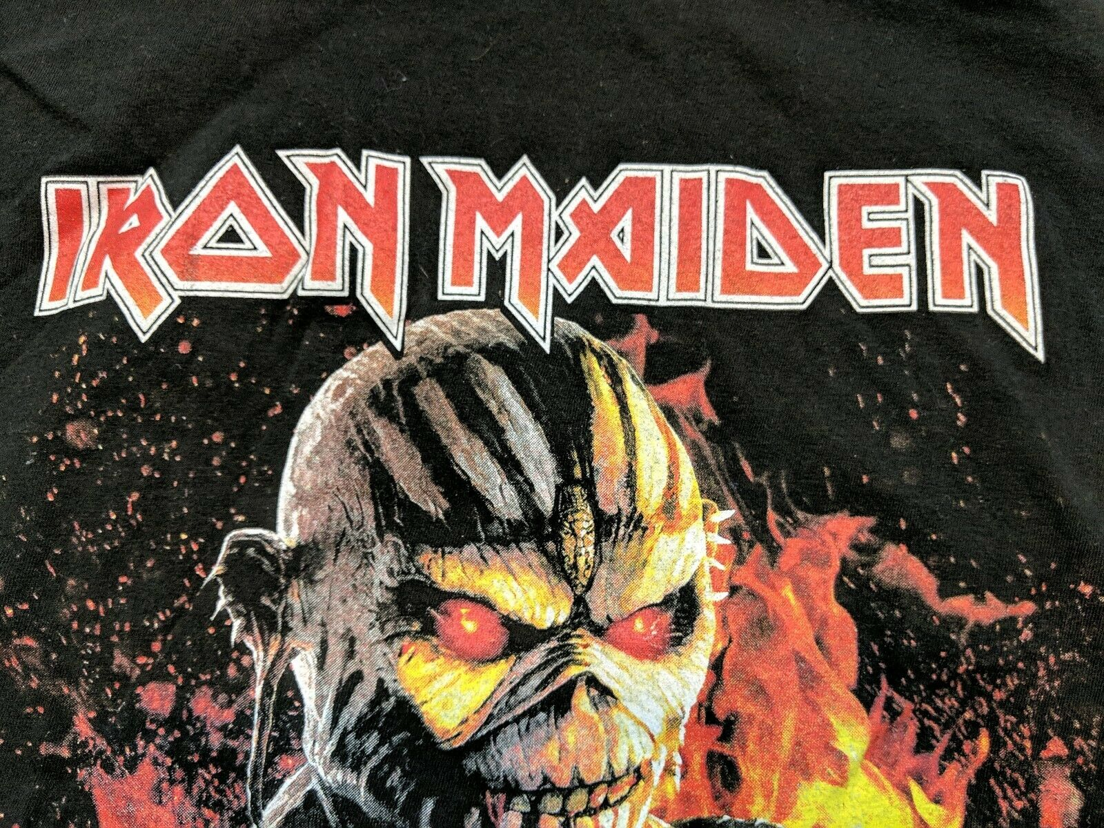 Iron Maiden Book Of Souls Tour 2017 T Shirt For Sale Online Ebay
