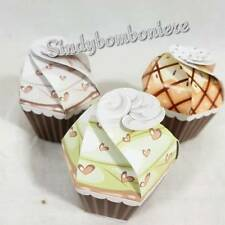 scatoline portaconfetti per confezionare bomboniere battesimo, compleanno 3 PEZZ