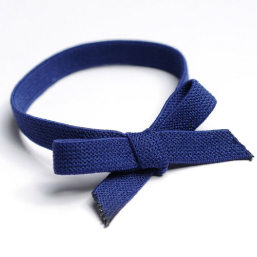1PC High Elastic Bow Knotted Hair Ring Hair Rubber Tie Band Solid Hair Accessory