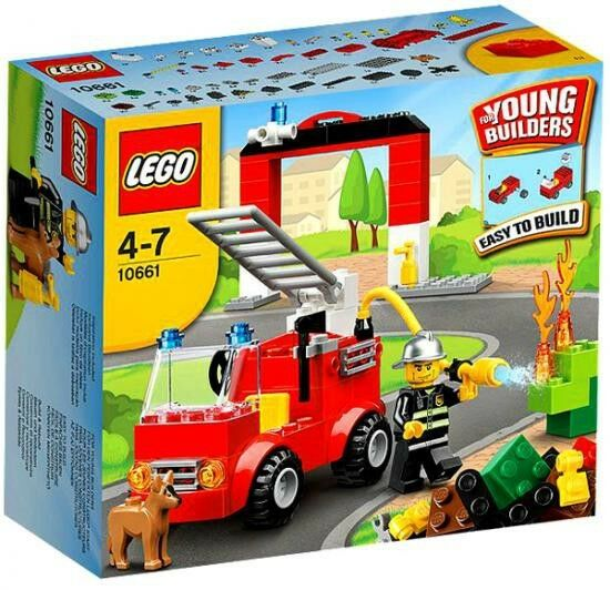 LEGO Young Builders Fire Station Set  10661