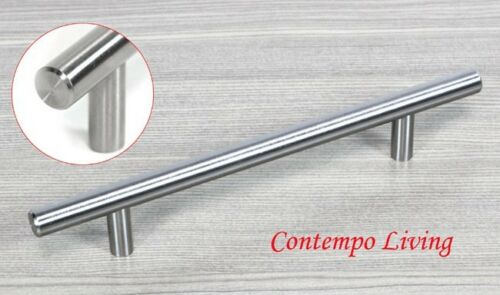 """Solid Stainless Steel 8/"""" Kitchen Cabinet Hardware Bar Pull Handle"""
