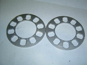 5-Stud-Universal-Wheel-Spacers-5mm-Car-Trailer-Etc-Sent-Registered-Post