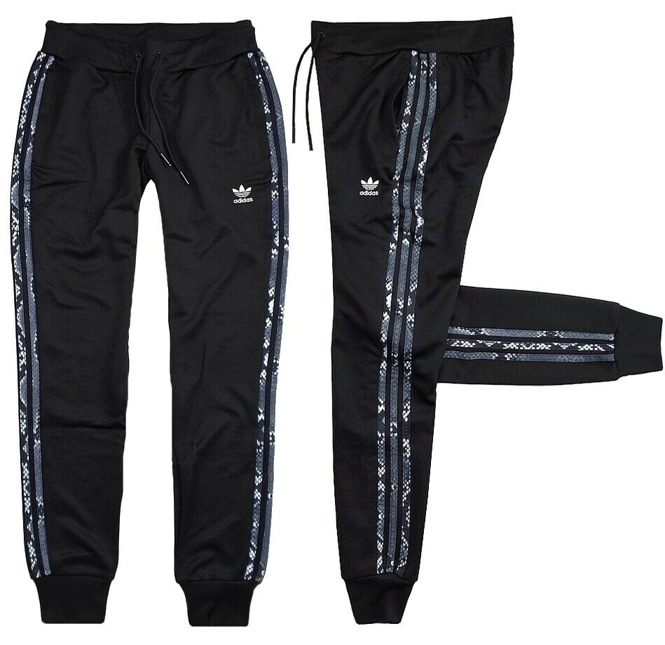 Adidas Femmes Jogging Pantalon De Training Trefoil Pantalon Cuffed Track Pant Noir