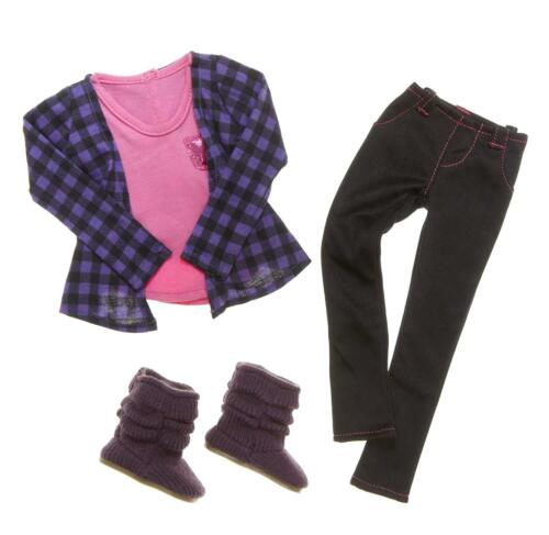 """BFC Best Friends Club Ink Doll Clothes Outfit So Stylish Boots shoes NIB 18/"""""""