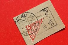 1903 china bisected stamps Fuzhou