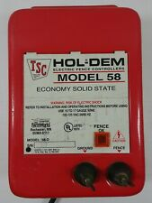 Hol Dem Electric Fence Controllers Model 58 D Uses 10 17 Gauge Wire Tested