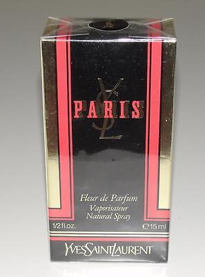 YVES SAINT LAURENT PARIS~NEW~FLEUR DE PARFUM NATURAL SPRAY 15 ml~VINTAGE~RARE