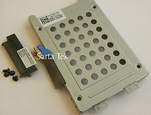 Dell-Studio-1735-1737-Hard-Drive-Caddy-X048C-With-New-Connector-Cable-U589F
