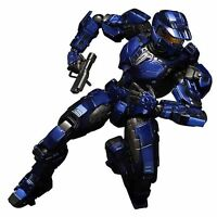 Halo Video Game Kai Blue Spartan 9in Action Figure Square Enix Play Arts on Sale