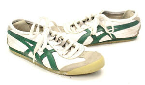 low priced 8227c 075dc Details about Onitsuka Tiger HL202 Mens Sneaker Shoes 6 White Leather Suede  Asics Stripes