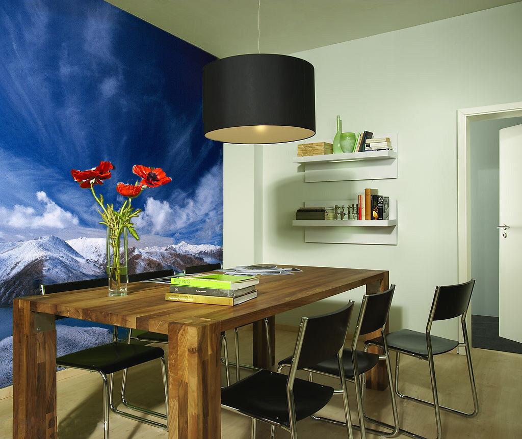 3D Wolken Berge 503 Tapete Tapeten Mauer Foto Familie Tapete Wandgemälde DE