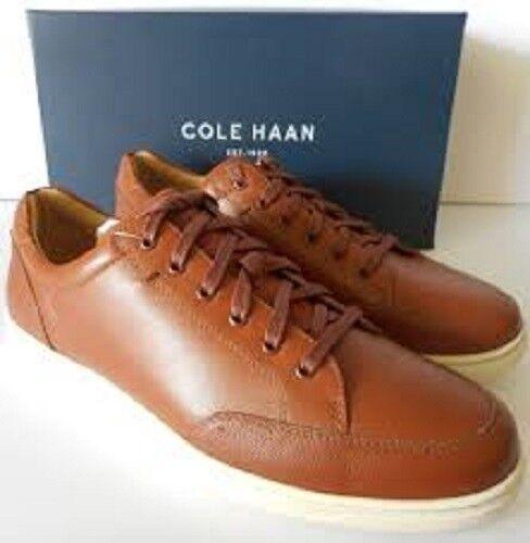 Men/'s Cole Haan Segan Sneaker II C26498 Tan Leather Brand New