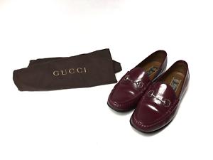 burgundy gucci shoes
