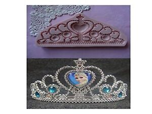 Princess Tiara I silicone mold queen fondant cake decorating APPROVED FOR FOOD