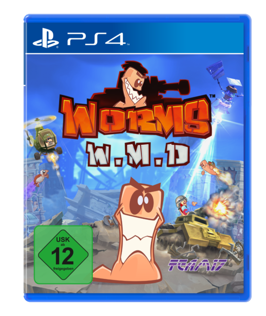 Worms Weapons of Mass Destruction PS4