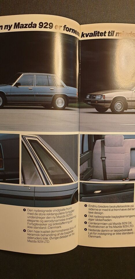 Brochure, Mazda 929