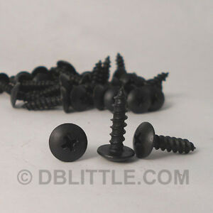 Carton-Of-6000-Hardened-Black-Oxide-10-X3-4-034-Truss-Head-Self-Tapping-Screw