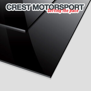 Pair-of-2-MSA-Spec-4mm-BLACK-Mud-Flaps-Dirt-Guard-Material-Race-Rally-Car