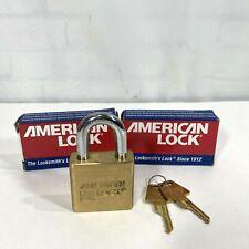 American Lock 2 Padlock A5570 Series Solid Brass Lot Of 2