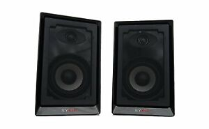Sykik Pro SP2551BT Bluetooth Enabled 50W Powered Monitor Speakers Brand NEW