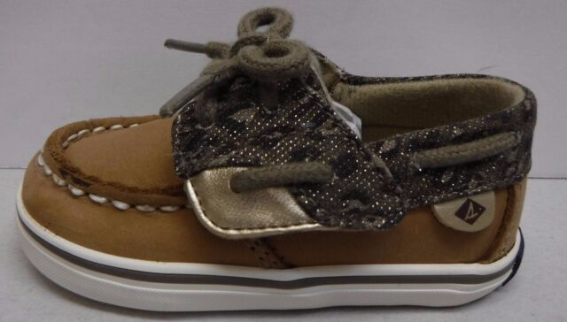 Sperry Toddler Size 2 Cheetah Boat Shoes New Baby Girls Shoes