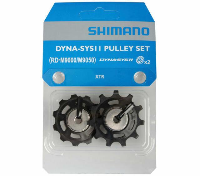 Shimano XTR M9000 11-speed Rear Derailleur Pulley Set for sale online