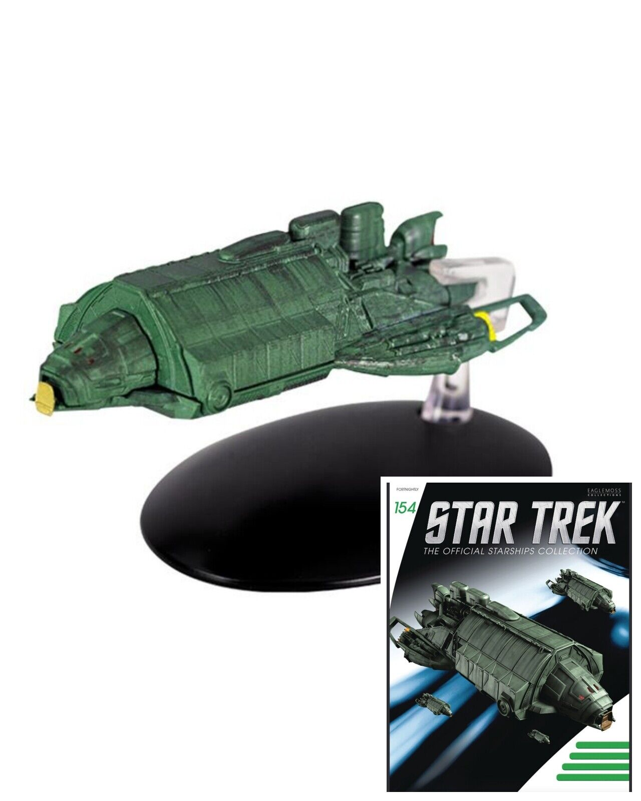 Issue 154: Klingon Transport Starship