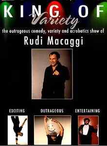 Rudi-Macaggi-King-of-Variety-DVD-comedy-circus-acrobat-autographed-Italian