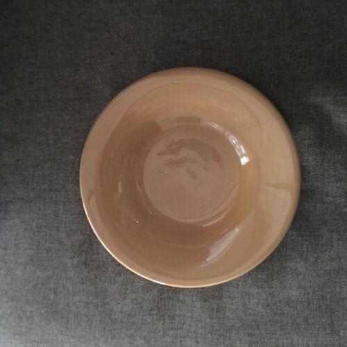"""Pottery Barn Sausalito 10/"""" Salad Plate Amber Gold"""
