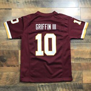 Details about Robert Griffin III Nike Jersey Washington Redskins Youth Size Medium Maroon #10