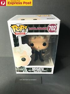 ZOOLANDER-MUGATU-FUNKO-POP-VINYL-MOVIES-FIGURE-702-NEW-PROTECTOR