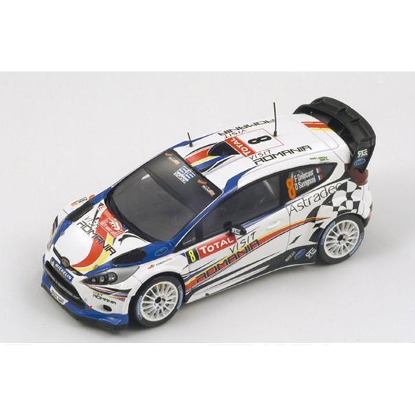 1 43 Ford Fiesta RS WRC  Visit Romania  Monte Carlo Rally 2012  F.Delecour