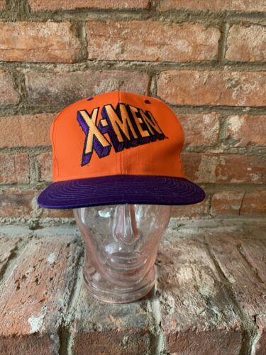 Vintage 90s X-Men Snapback Hat