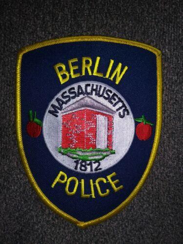 O//S MASSACHUSETTS POLICE DEPT PATCH BERLIN