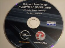 OPEL Vauxhall Navi CD NCDR NCDC Great Britain/Ireland 2010/2011
