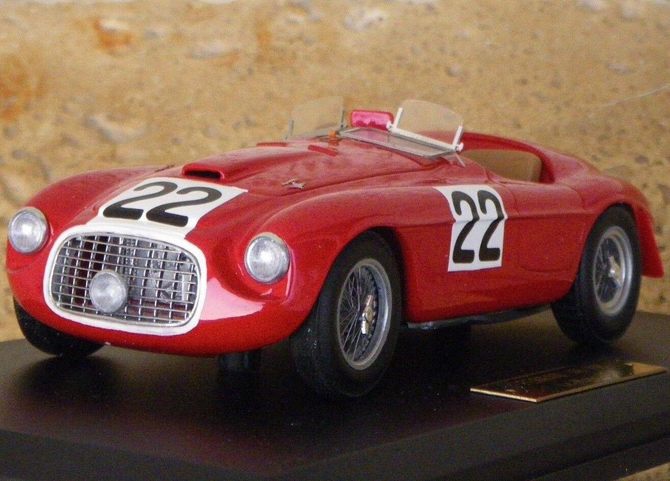 Conjuntos de modelos no montados del Ferrari 166mm Mille miglia o Le Mans 1949 Winner fppm 1   24