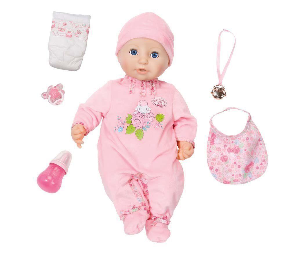 BABY Annabell BAMBOLA M. vita vera e propria funzione ioni quasi come un bambino NUOVO OVP