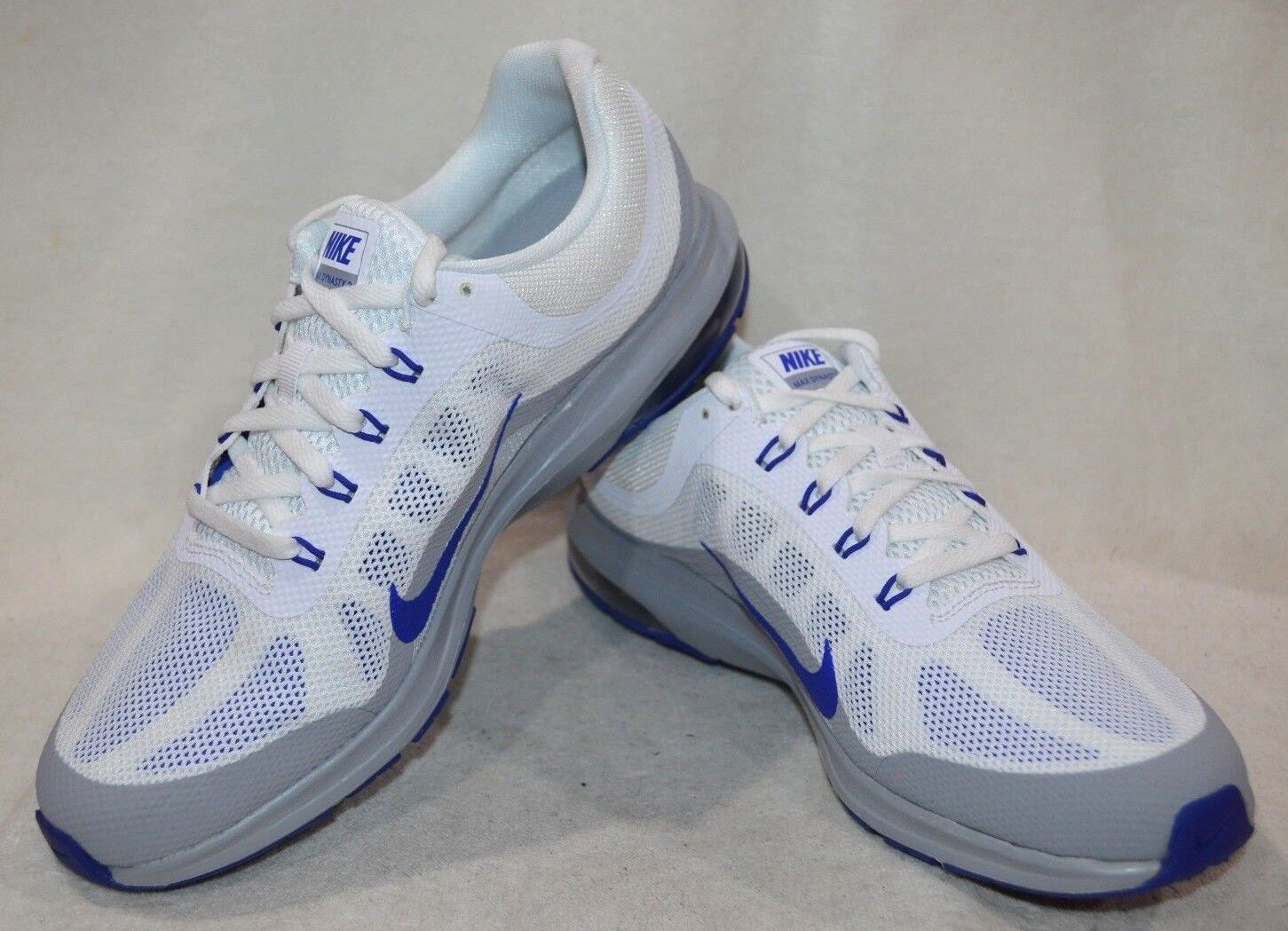 Nike Air Max Dynasty 2 White bluee Grey Men's Running shoes - Assorted Sizes NWB