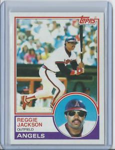 1983-Topps-500-Reggie-Jackson-New-York-Yankees-Angels-HOF-Set-Break-NM